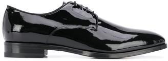 Tagliatore Lace Up Patent Loafers