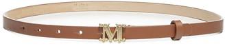 Max Mara Monogram Buckled Belt