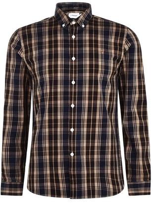 Farah Brewer Long Sleeve Check Shirt