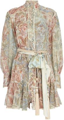 Zimmermann Lucky Bound Floral Mini Dress