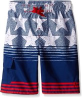 Champion Big Boys Americana Swim Short