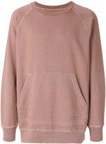 Burberry oversized sweatshirt - men - Cotton - S