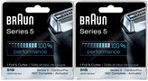 Braun Series 5 Combi 51S Foil and Cutter Replacement Pack - 2 pk