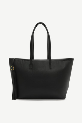 Ardene Faux Leather Tote Bag