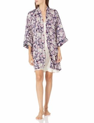 Lucky Brand Women's Floral Print Kimono Wrap