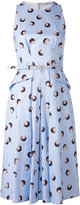 Blumarine ball print dress - women - Cotton/Spandex/Elastane - 44