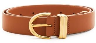 KHAITE Bambi Leather Belt - Womens - Tan