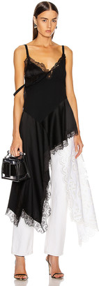 Monse Negligee Lace Top in Black | FWRD