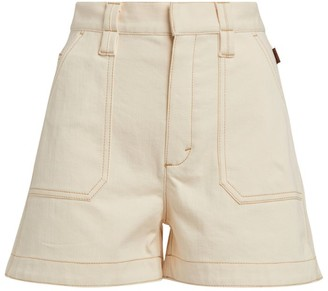 Chloé High-Waist Denim Shorts