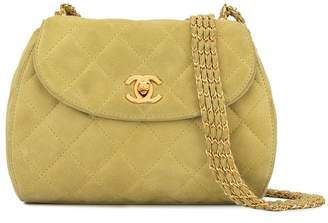 Chanel Pre-Owned 1995 diamond quilted four-chain shoulder bag
