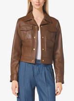Michael Kors Tailored Leather Jacket