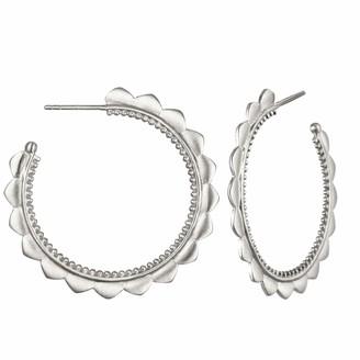 Satya Jewelry Petal Hoop Earrings