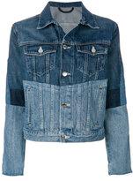 Helmut Lang panelled denim jacket