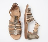 Earth Origins Leather Gladiator Sandals - Belle Blaine