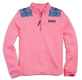 Vineyard Vines Girls' Whale Tail Print Shep Shirt - Big Kid