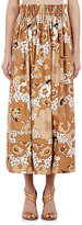 Chloé Women's Floral-Print Maxi Skirt