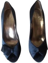 Marc Jacobs Grey Silk Heels
