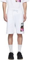 Dries Van Noten SSENSE Exclusive White Mika Ninagawa Edition Print Shorts