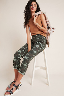 Anthropologie Wanderer Camo Cargo Pants By in Green Size 25