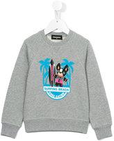DSQUARED2 Ciro print sweatshirt - kids - Cotton - 4 yrs