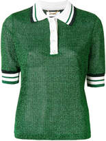 Muveil knitted polo shirt