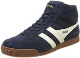 Gola Men's Harrier High Suede Low-Top Sneakers Blue Size: 9