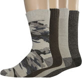 Dickies Mens 4-pk. Thermal Crew Socks