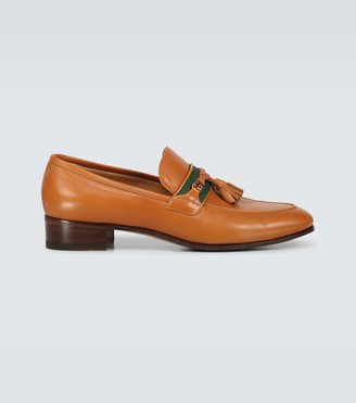 Gucci Exclusive to Mytheresa - tasseled leather moccasins