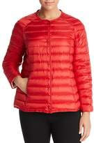 Marina Rinaldi Paella Channel-Quilted Down Jacket
