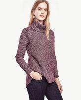 Ann Taylor Hi-Lo Turtleneck Sweater