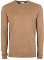 Topman Premium Camel Merino Blend Sweater