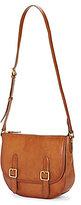Frye Claude Leather Saddle Bag