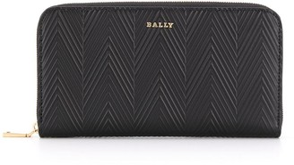 Bally Embossed Leather Wallet