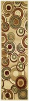 """Safavieh Lyndhurst Collection LNH225A Ivory and Multi Runner, 2 feet 3 inches by 12 feet (2'3"""" x 12')"""