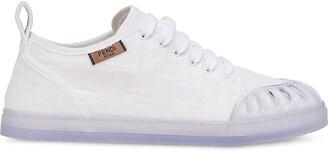 Fendi jacquard FF motif sneakers