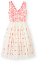Boden Pretty Embroidered Dress