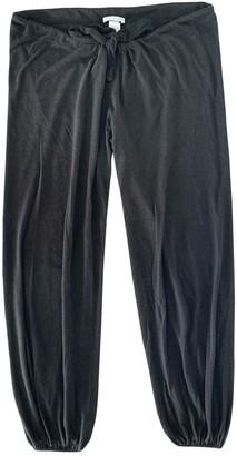 Eberjey Black Trousers for Women