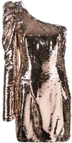 Amen sequin one shoulder dress