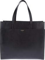 Saint Laurent large branded tote