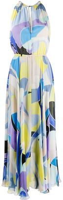 Emilio Pucci Quirimbas print long dress