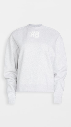 Alexander Wang Foundation Terry Crew Neck Sweatshirt