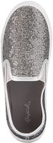 Charlotte Russe Qupid Glittery Slip-On Sneakers