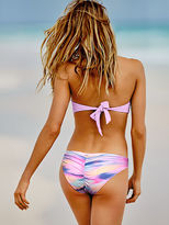 PINK Ruched Mini Bikini Bottom