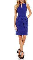 Antonio Melani Winnie V-Neck Sheath Dress