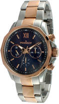 Peugeot Mens Rose-Tone Stainless Steel Bracelet Watch 1046TBL