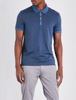 HUGO BOSS Slim-fit cotton-piqué polo shirt