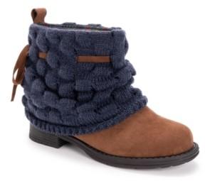 Muk Luks Women's Mireya Sweater Knit Booties Women's Shoes
