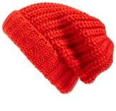 Hinge Women's Chunky Knit Beanie - Black