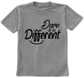 Urban Smalls Heather Gray 'Dare to Be Different' Tee - Toddler & Boys