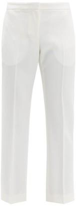 Alexander McQueen Tailored Virgin Wool-twill Trousers - Ivory